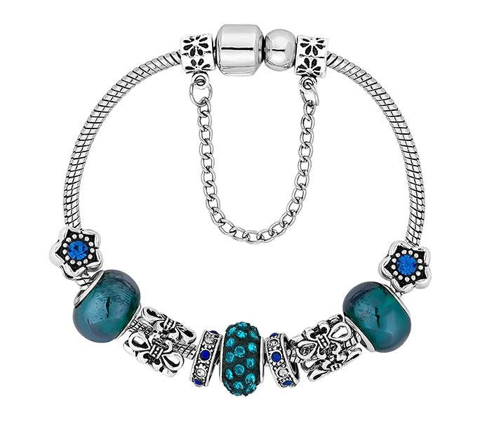 treasure bracelet in blue bracelets jewellery diamond style