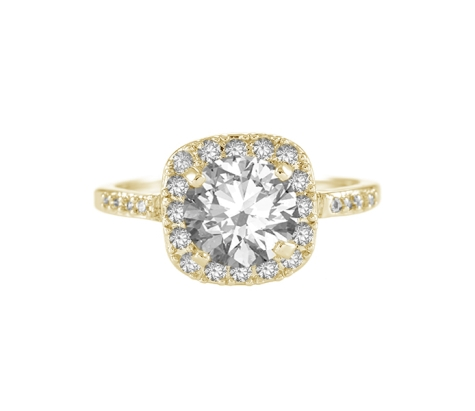 Affinity Ring in Yellow Gold Plate