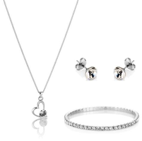 Princess Heart Set with Elizabeth Bracelet