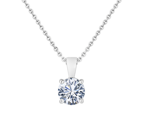 Solitaire Pendant in Large Size