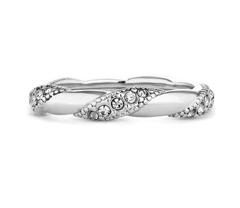 Sparkle Twist Stacking Ring