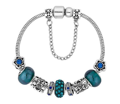 Treasure Bracelet in Blue