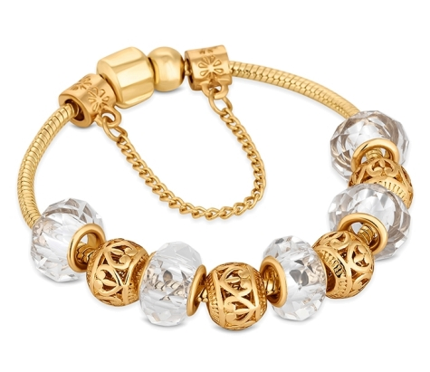 Treasure Bracelet in Gold Plating - Small Size