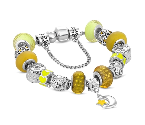 Treasure Bracelet in Yellow - Small Size