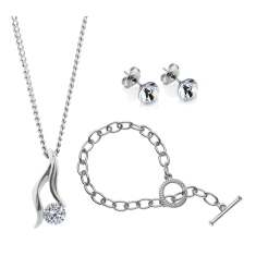 Adore Solo Set with Tiffany style Bracelet