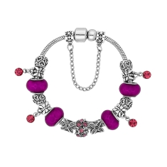 Ava Bracelet in Purple