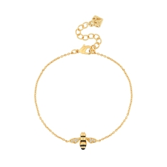 Bee Bracelet in Gold Plating