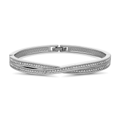 Crisscross Bangle