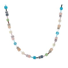 Cube Necklace in Pastel