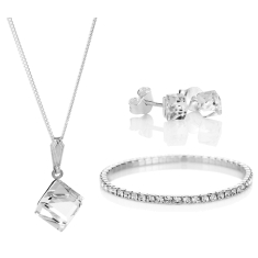 Cube Set with Elizabeth Bracelet