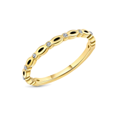 Dainty Ring in Yellow Gold plating size 7