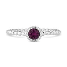 February Gemstone Ring