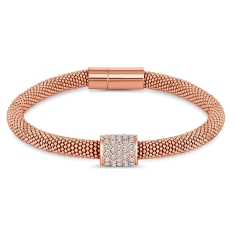 Galaxy Bracelet in Rose Gold Plating