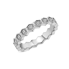 Hexagon ring in US size 6