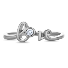 Love Word Ring