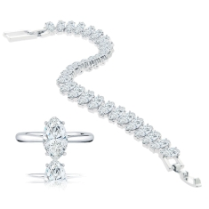 Marquise Ring and Bracelet