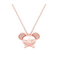 Mouse Pendant for CNY 2020 in Rose Gold Plating