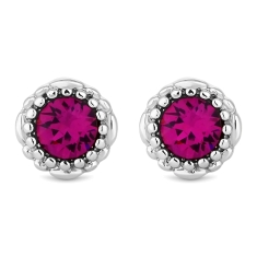 October Gemstone Stud Earrings