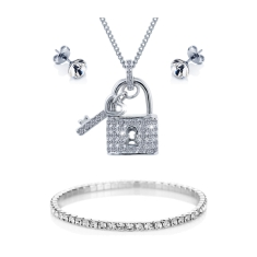 Padlock Set with Elizabeth Bracelet