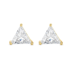 Prism Earrings in  Gold