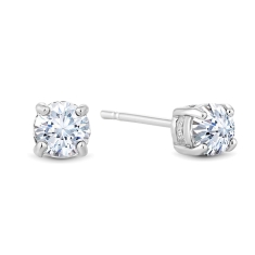 Small Solitaire Crystal Studs