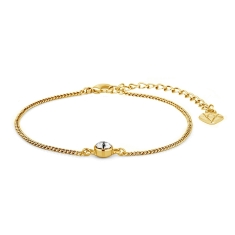 Solo Bracelet in Gold Plating