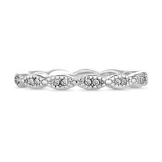 Sparkle Chain Stacking Ring