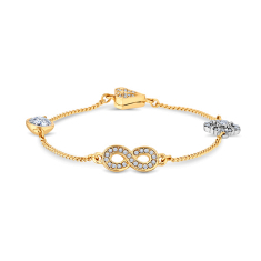 Stacker Magnetic Bracelet with Infinity Charm