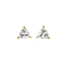 Timeless Earrings in 14k Gold, Made with Swarovski Elements