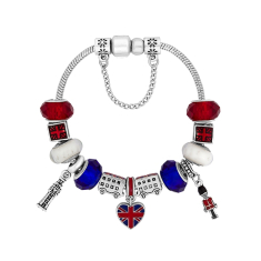 Treasure Bracelet with British Charms - Small Size