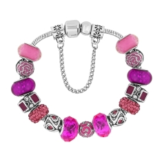 Treasure Bracelet in Fuchsia Pink