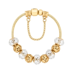 Treasure Bracelet in Gold Plating