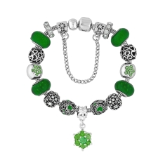Treasure Bracelet in Green