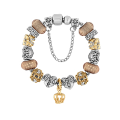 Treasure Bracelet in Mixed Metals - Small Size