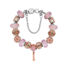Treasure Bracelet in Rose