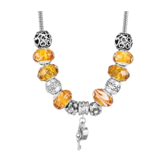 Treasure Amber Necklace