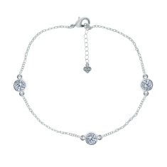 Trio Anklet